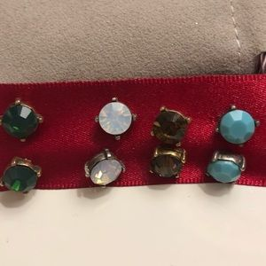 Class Stud Earrings - four pairs!